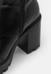 Even&Odd - Boots med høye hæler - black - 5