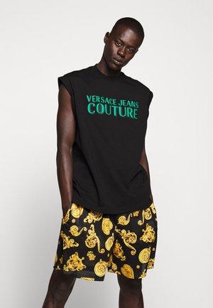 TANK LOGO - T-shirt imprimé - black