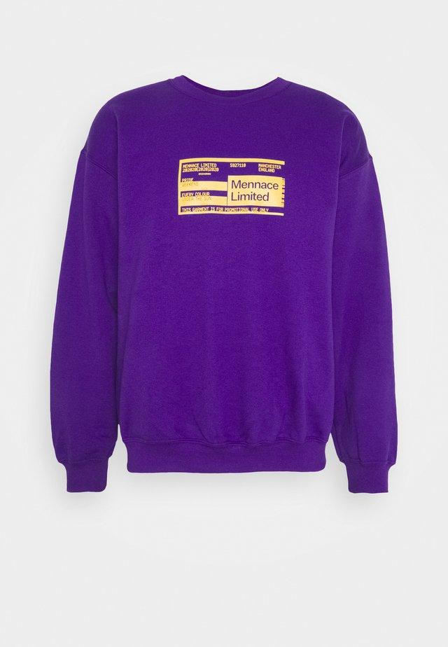 UNISEX PRIDE TICKET SWEATSHIRT - Sweatshirt - purple