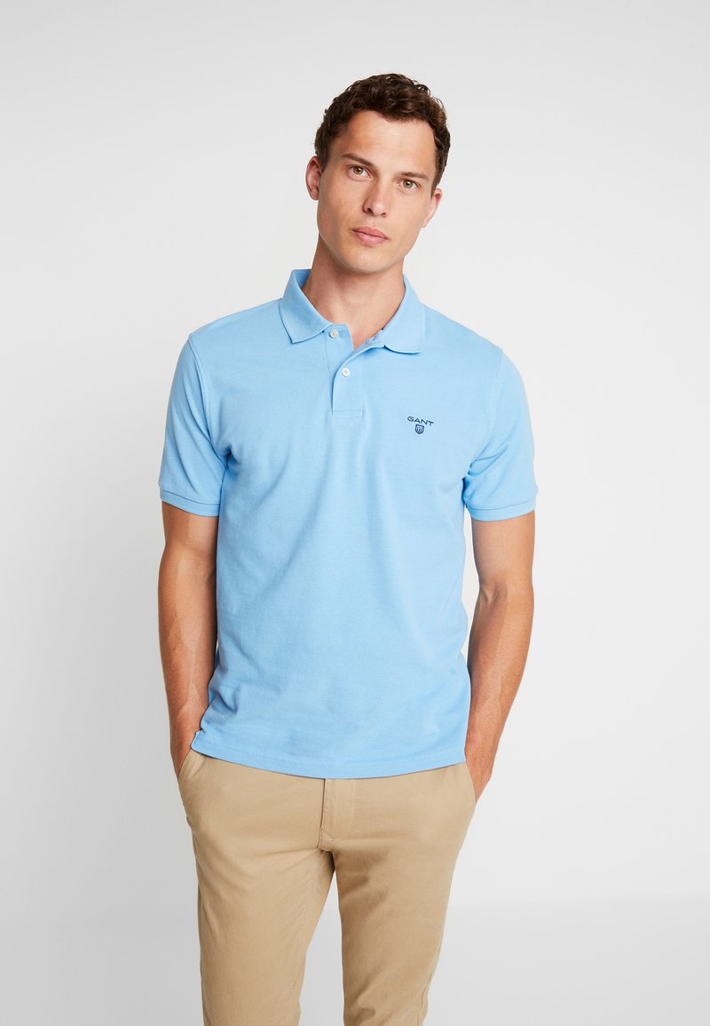 GANT - THE SUMMER - Polo shirt - hellblau