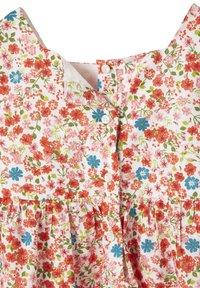 Vertbaudet - Day dress - weiß/rot geblümt - 3