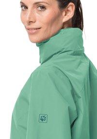 Jack Wolfskin - EVANDALE  - Outdoor jacket - pacific green - 2