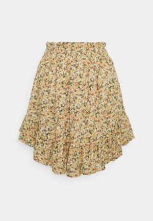 YASLAGI SKIRT  - Mini skirt - humus