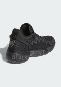 adidas Originals - PHARRELL WILLIAMS D.O.N. ISSUE 2 SHOES - Tenisky - black - 3
