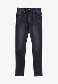 PULL&BEAR - Jeans Skinny Fit - dark blue denim