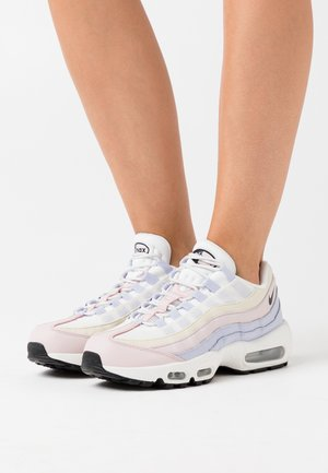 AIR MAX 95 - Sneakersy niskie - ghost/black/summit white/barely rose/glacier blue