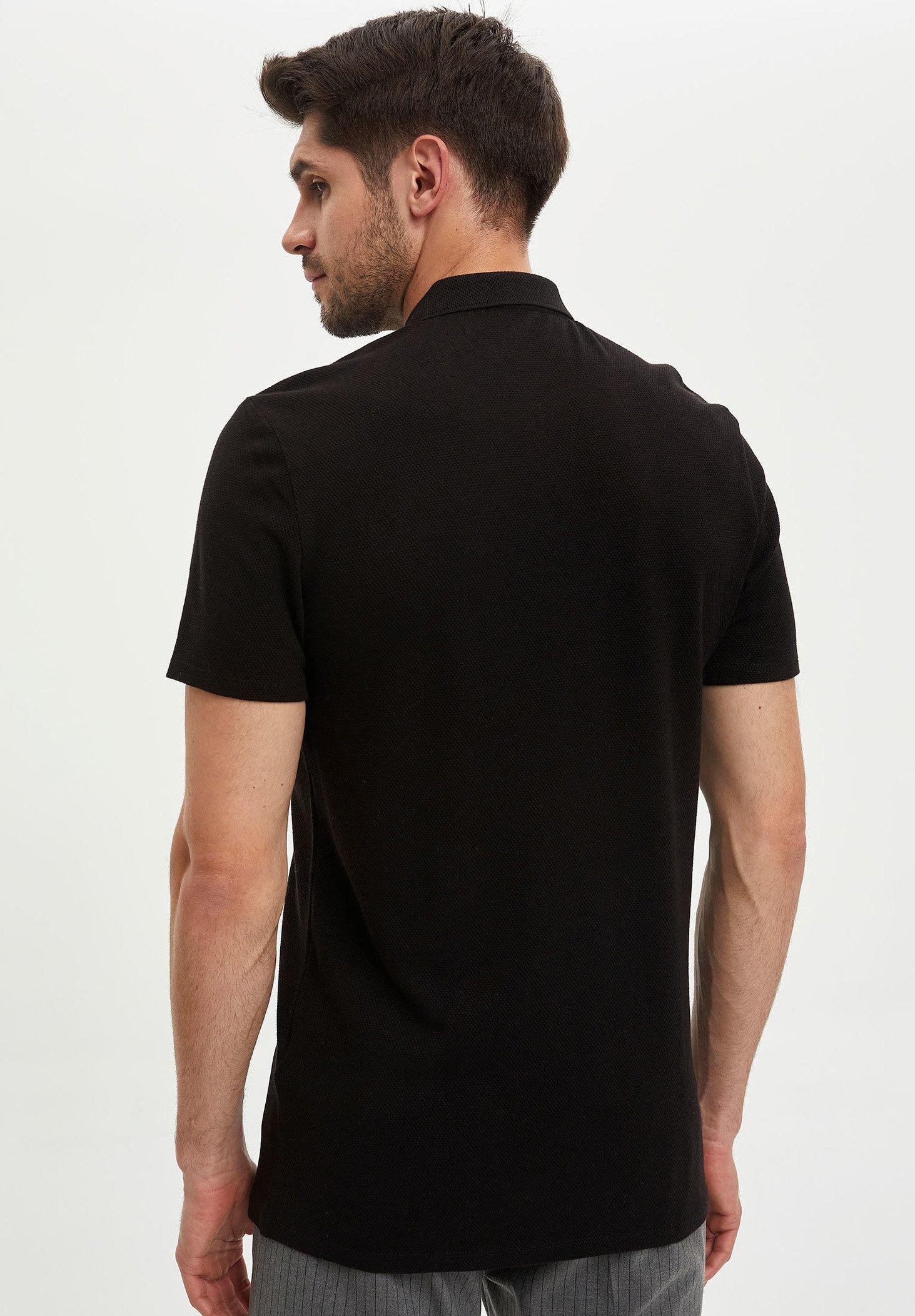 DeFacto Polo shirt - black 0ZZjC