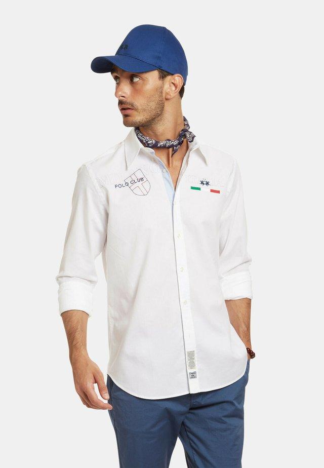 RIENZI - Camicia - optic white