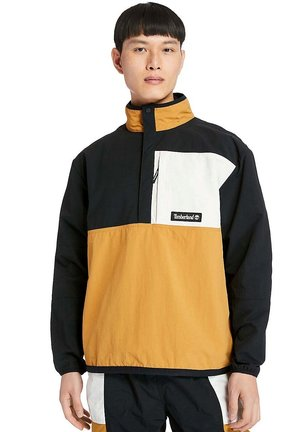 OUTDOOR ARCHIVE PACKABLE  - Windbreaker - black white sand wheat