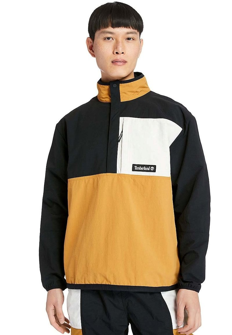 Timberland - OUTDOOR ARCHIVE PACKABLE  - Windbreaker - black white sand wheat