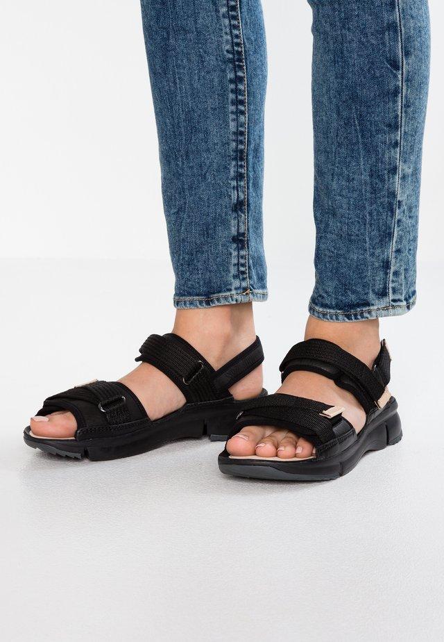 TRI WALK - Sandals - black