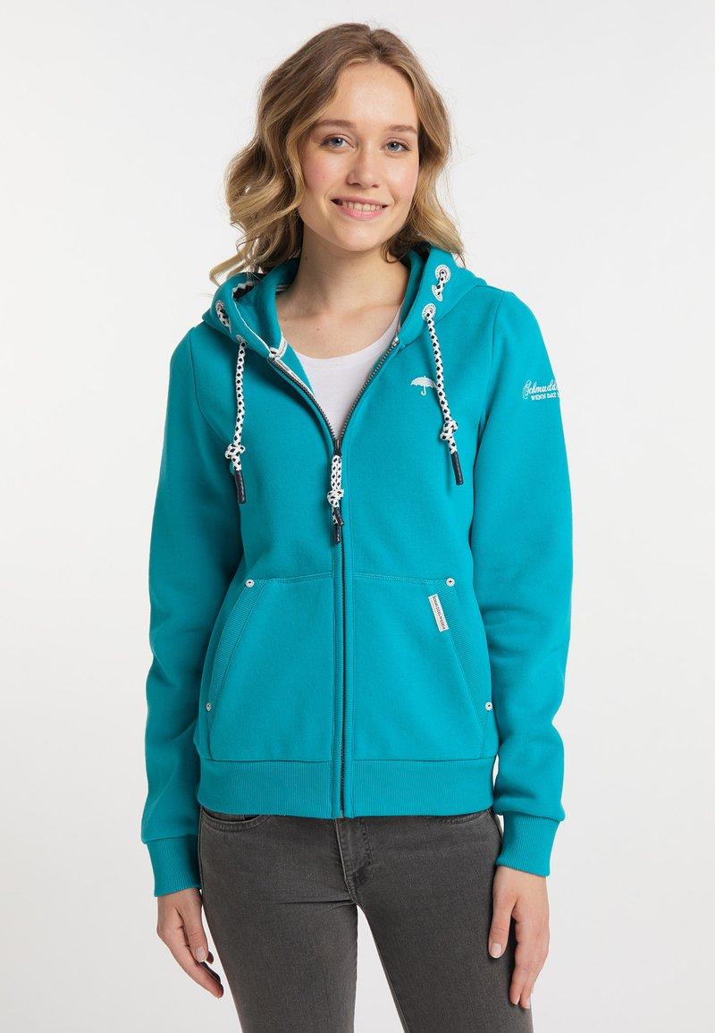 Schmuddelwedda - Zip-up sweatshirt - türkis