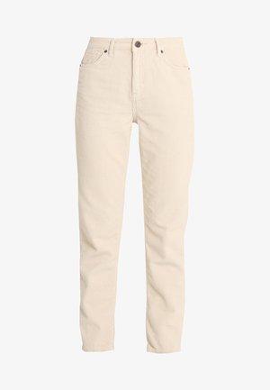 MOM - Spodnie materiałowe - white