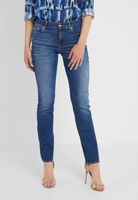 7 for all mankind - BAIR DUCHESS - Straight leg jeans - blue denim - 0
