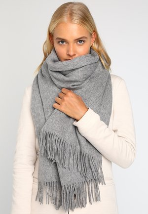 NIA SCARF - Szal - light grey melange