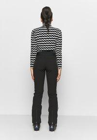 Luhta - HAAPALA - Snow pants - black - 2