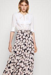 Diane von Furstenberg - LILLIAN SKIRT - Maxi skirt - black - 4