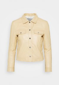 Deadwood - FRANKIE - Leather jacket - beige - 4