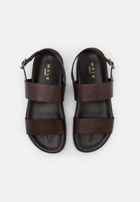 Walk London - JACKSON - Sandaalit nilkkaremmillä - swiss brown - 3