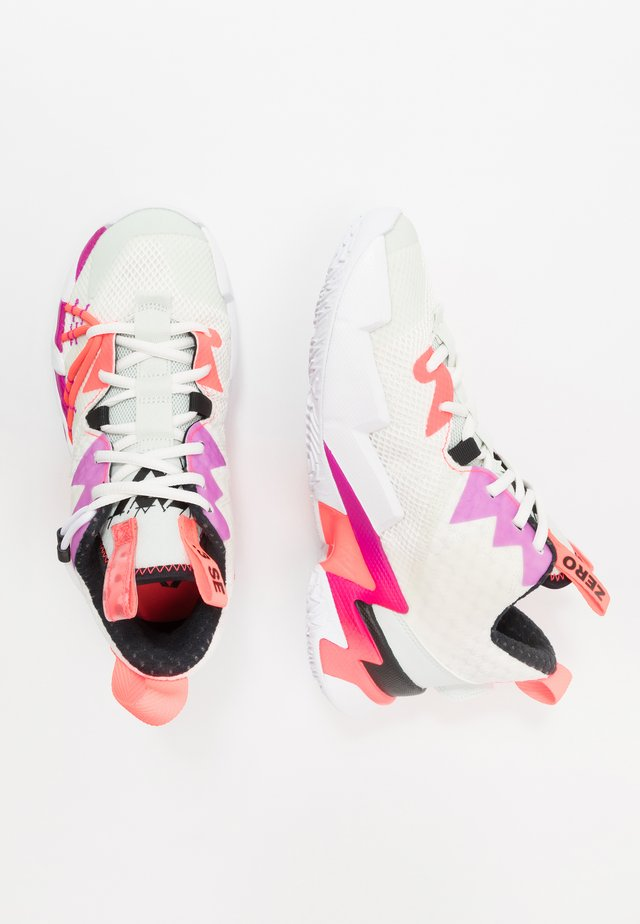 WHY NOT ZER0.3 SE - Chaussures de basket - sail/black/spruce aura/flash crimson/hyper violet