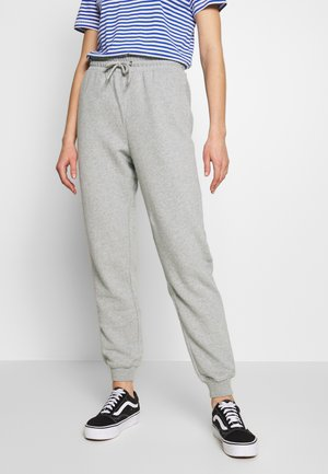 KARDI PANTS - Tracksuit bottoms - grey melange