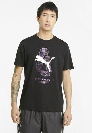 AVENIR  - Print T-shirt - puma black