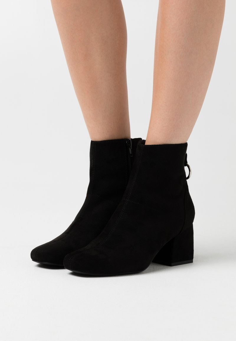 ONLY SHOES - ONLBILLIE LIFE HEELED BOOT  - Classic ankle boots - black