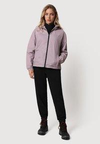 Napapijri - A-CIRCULAR SHORT - Light jacket - sea fog pink - 1