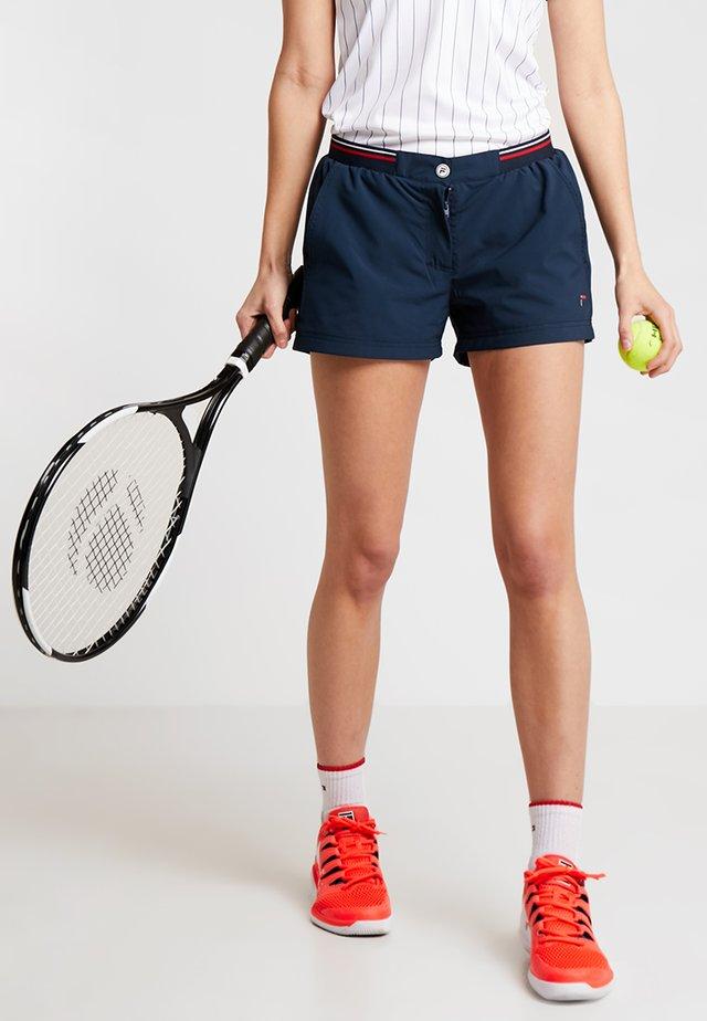 BOXY SHORT BIANCA  - Sports shorts - peacoat blue