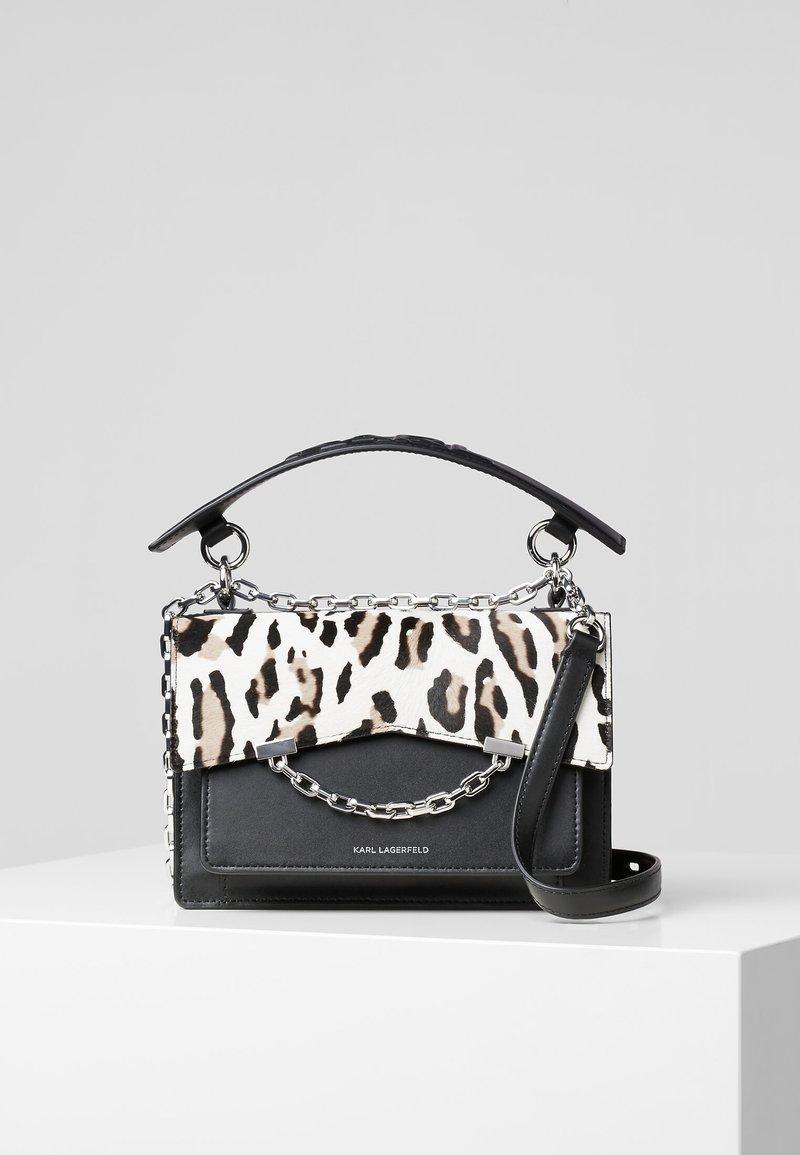 KARL LAGERFELD - Handbag - black/white