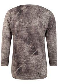 DORIS STREICH - MIT PRINT - Sweatshirt - stein - 1