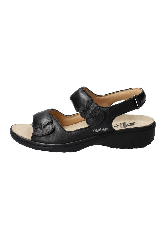 GETHA - Walking sandals - black