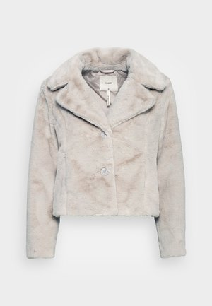 OBJTILLY JACKET - Winter jacket - silver gray