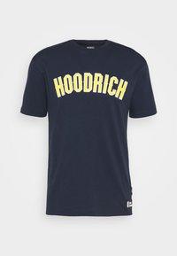 Hoodrich - DRIP - Print T-shirt - navy/yellow - 3