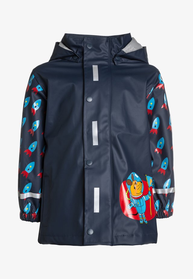 Vodotěsná bunda - dunkelblau
