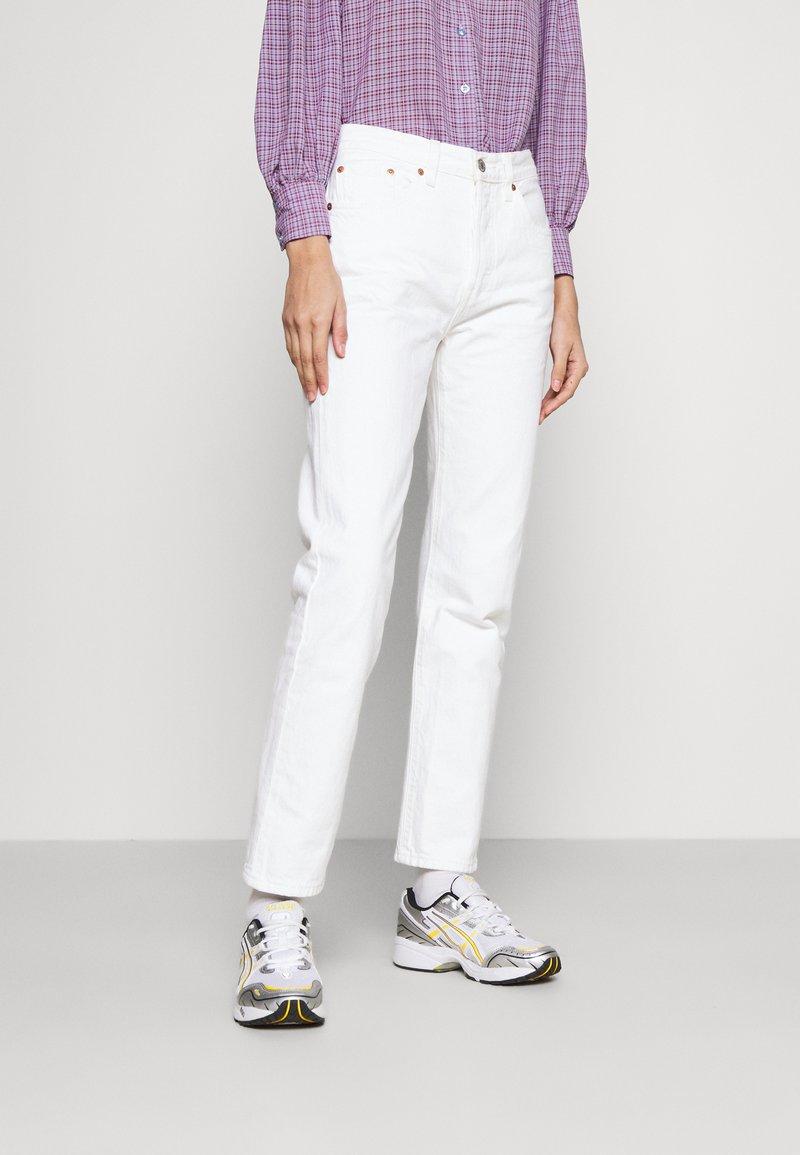 Levi's® - 501 CROP - Slim fit jeans - come clean