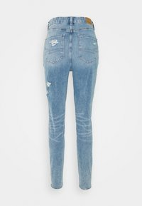 American Eagle - CURVY HIGHEST RISE DREAM - Jeggings - indigo acid - 1