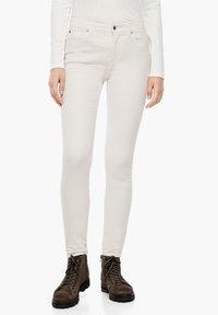 s.Oliver - Trousers - cream - 3