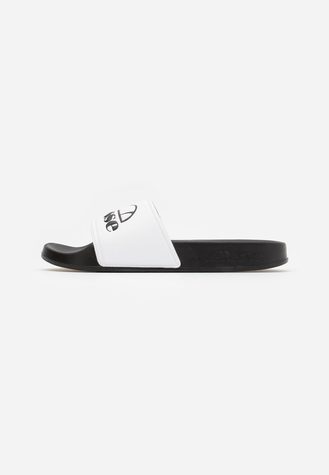 FILIPPO - Mules - white/black