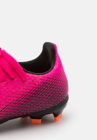 adidas Performance - X GHOSTED.3 FG UNISEX - Kopačky lisovky - shock pink/core black/screaming orange - 5