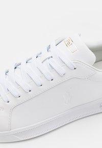 Polo Ralph Lauren - TOP LACE UNISEX - Tenisky - white - 5