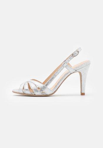 ANDES - Sandaler med høye hæler - argent