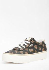 Guess - SANAM - Sneakers laag - mehrfarbig braun - 1
