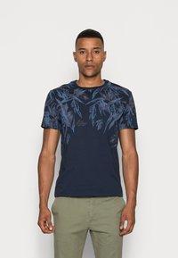 Pier One - T-shirt print - blue - 0