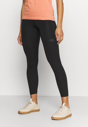 W MOTIVATION HR 7/8 POCKET TIGHT - Legging - black