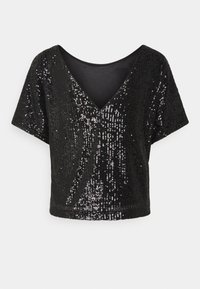 Milly - DOLMAN - Print T-shirt - black - 1