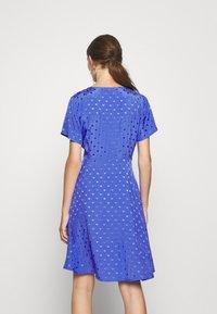 Nümph - NUBRANDALL DRESS - Day dress - blue - 2
