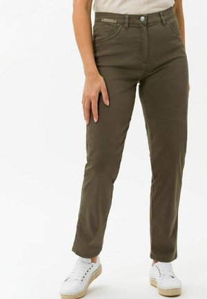 CORRY - Trousers - olive