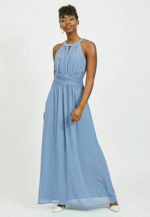 VIMILINA HALTERNECK MAXI DRESS - Iltapuku - colony blue
