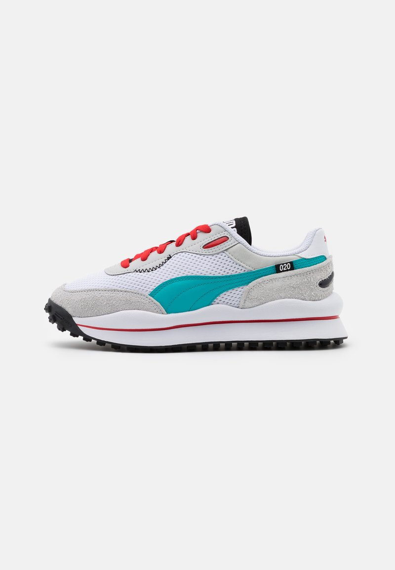 Puma - STYLE RIDER NEO ARCHIVE - Trainers - white/gray violet